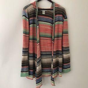 American Rag striped flowy sweater